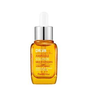 Мультивитаминная сыворотка прекрасно увлажняет кожу и помогает сохранить влагу на долгое время. Осветляет пигментацию, выравнивает ее тон, а так же помогает устранить мелкие морщины. Борется с тусклостью и сухостью кожи. Лимонная кислота обогащает кожу витамином С, стимулирует работу иммунной системы, отшелушивает ороговевшие клетки, устраняет жирный блеск, придаёт лицу красивый цвет и ухоженный вид. Гиалуроновая кислота мгновенно увлажняет кожу на поверхности и интенсивно насыщает влагой во всех слоях, на поверхности кожи создает невидимую защитную пленку, которая способствует удержанию влаги внутри, а также притягивает влагу из воздуха, благодаря чему кожа увлажнена в течение долгого времени. Ниацинамид - активный компонент для мощного клеточного обновления кожи, улучшает эластичность кожи и барьерную функцию; помогает удалить возрастные пятна и выравнивать текстуру. Но, ниацинамид не только подходит для возрастной кожи! Это прекрасный эффективный компонент для тех, кто борется с морщинами и акне! Выравнивает тон кожи, уменьшает акне и убираем красные следы пост-акне, известные как пост-воспалительная пигментация. При наружном применении ниацинамида увеличивается количество церамидов в коже, то есть восстанавливается нарушенная барьерная функция и уменьшается потеря влаги. Ниацинамид прекрасно подходит и для кожи с жирным блеском. Он регулирует выработку кожного сала, постепенно нормализуя его. Аденозин ускоряет синтез коллагена и эластина, которые играют важную роль в разглаживании морщин и укреплении кожи. Кроме того, аденозин не только увеличивает уровень этих важных белков, но и минимизирует повреждения кожи, вызванные ультрафиолетовыми лучами. Способ применения: нанесите средство на кожу лица и равномерно распределите легкими, похлопывающими движениями. 30 мл