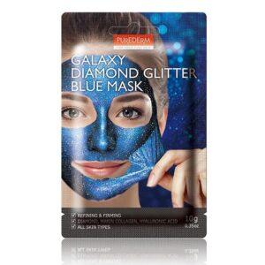 Маска Galaxy Diamond Glitter Blue Purederm