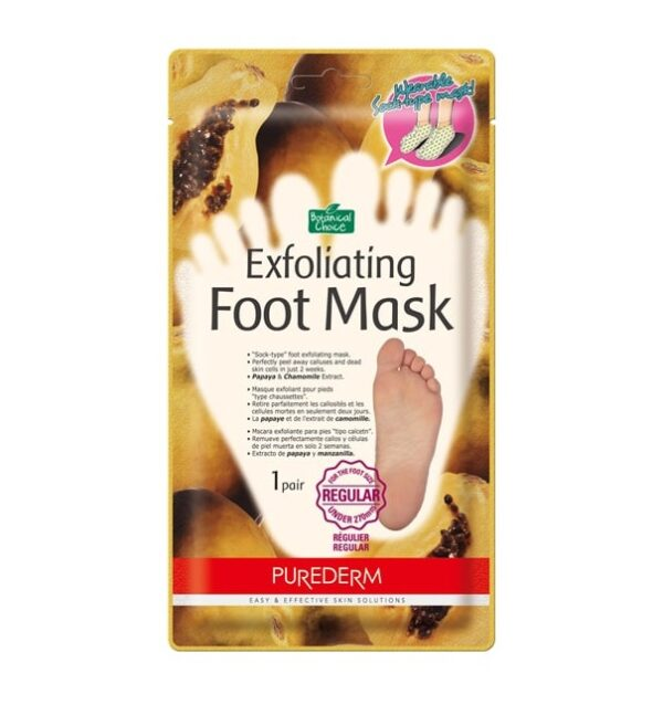 Пилинг-носочки Exfoliating Purederm