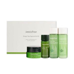Набор миниатюр Green Tea Special Kit EX Innisfree