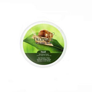Крем Natural Skin Snail Nourishing Deoproce