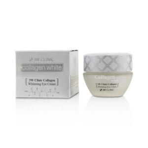 Крем для век Collagen Whitening 3W CLINIC