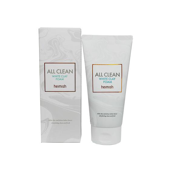 Пенка All Clean White Clay Heimish
