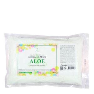 Маска альгинатная Aloe Sensitive Skin Soothing 240 г. Anskin