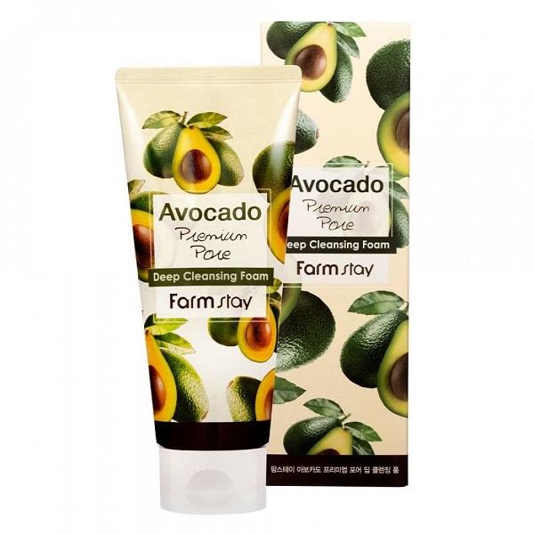 Пенка Avocado Premium Pore FarmStay