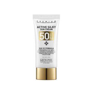 Крем Active Silky Sun Cream SPF50+Medi-Peel