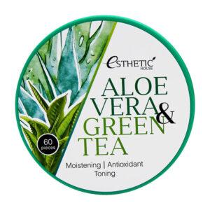 Патчи Aloe Vera & Green Tea Esthetic House