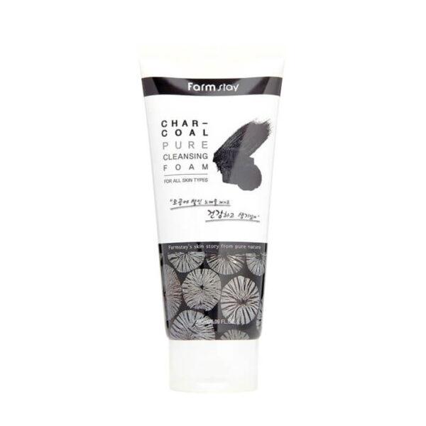 Пенка Charcoal Pure FarmStay