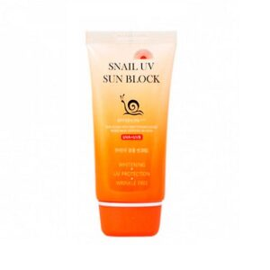 Крем Snail UV Sun block SPF 50+PA+++Jigott