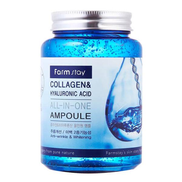 Сыворотка Collagen & Hyaluronic FarmStay