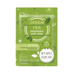Маска El'Skin Antioxidant Green Tea Skinlite