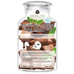 Маска Nourishing Collagen Chocolate Skinlite