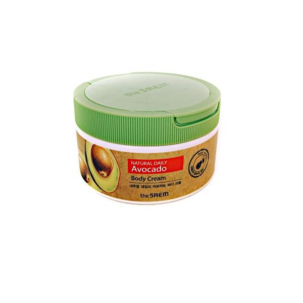 Крем Care Plus Avocado Body Cream The Saem