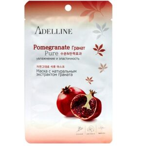 Тканевая маска Adelline Facial Mask Pomegranate Adelline