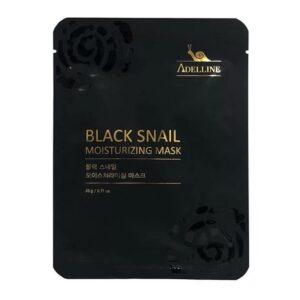 Маска тканевая Black snail moisturizing Adelline