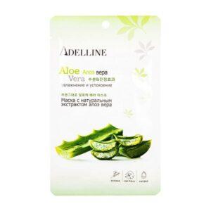 Тканевая маска Facial Mask Aloe Vera Adelline