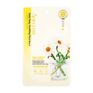 Тканевая маска Daile Deep Soothing Mask - Camomile Adelline