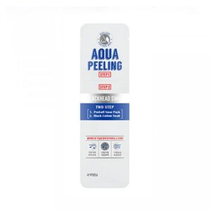 Набор для очищения Aqua Peeling BlackHead Swab Two Step A'Pieu