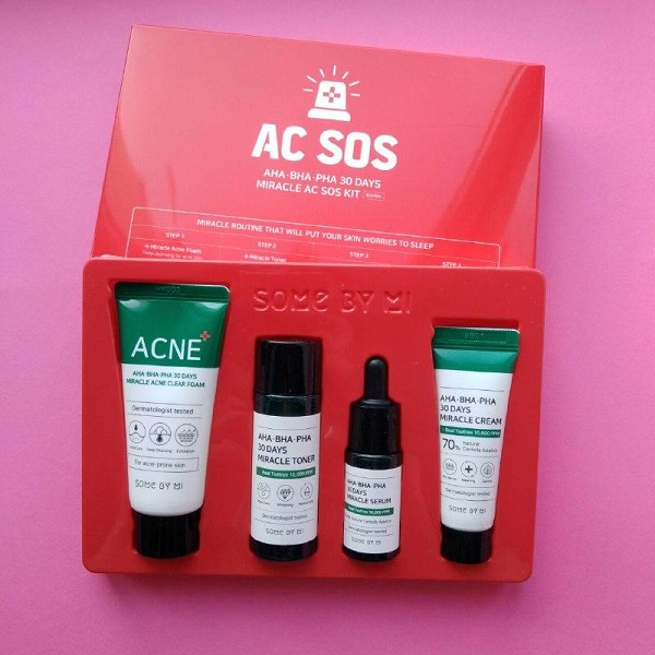 Набор миниатюр Ahabahapha 30 Days Miracle Ac Sos Kit Some By Mi