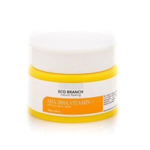 Крем с кислотами, витаминами Intensive Aha, Bha, Vitamin ECO BRANCH