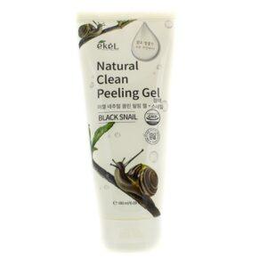 Пилинг-скатка Natural Clean Black Snail EKEL