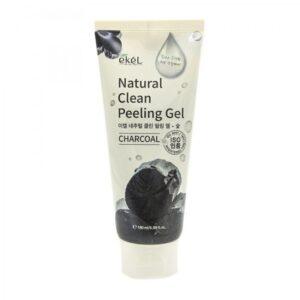 Пилинг-скатка Natural Clean Charcoal EKEL