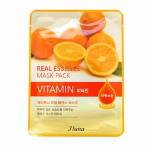 Маска JLuna Real Essence Mask Pack Vitamin JUNO