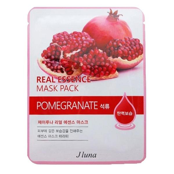 Маска JLuna Real Essence Mask Pack Pomegranate JUNO