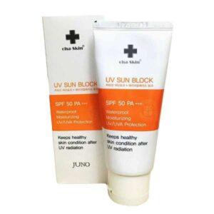Крем Cha-Skin Uv Sun Block SPF 50 PA+++ JUNO